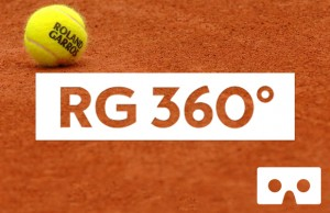 Application Roland Garros 360° France Télévision