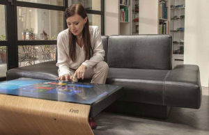 "Kenti Table : La table basse ""tablette"" de 42 pouces"